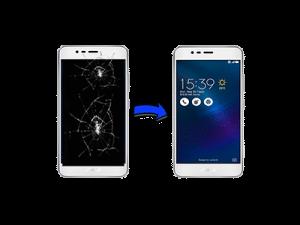 : asus zenfone ekran değişimi, asus zenfone3 max ekran değişimi
